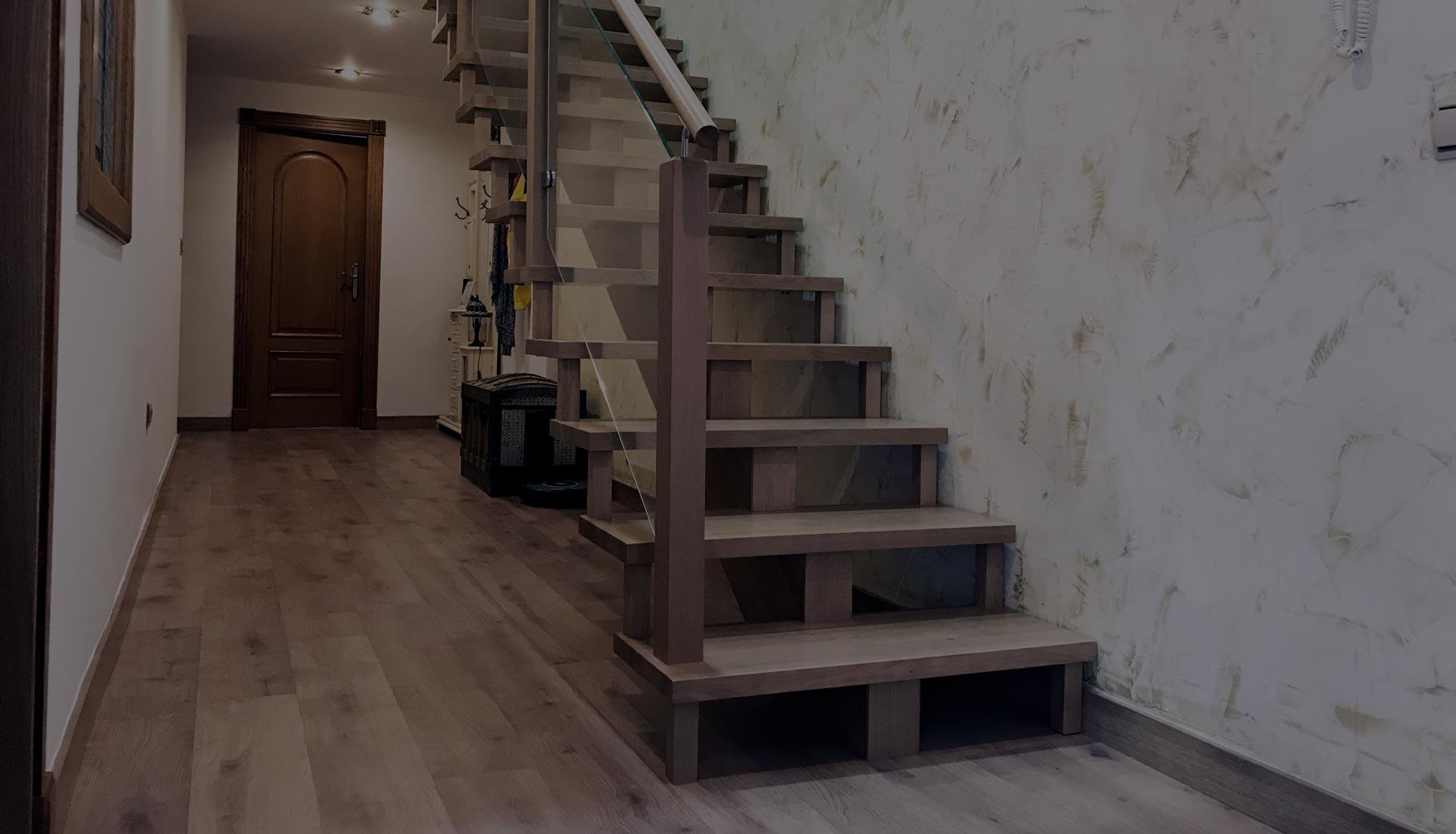 fabricación de escaleras