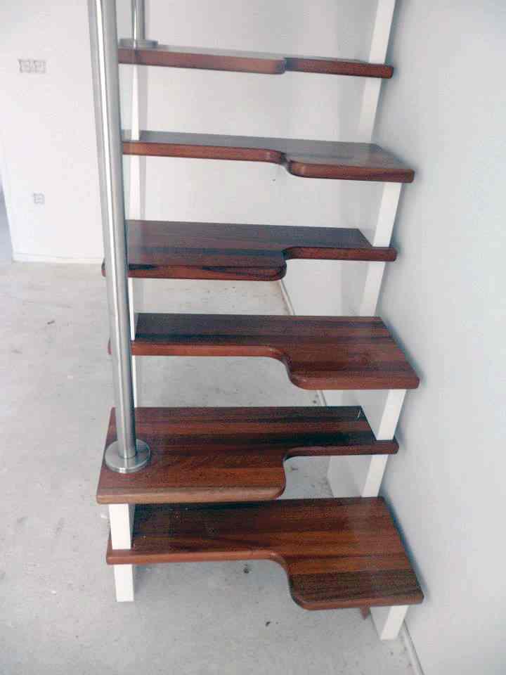 escalera japonesa madera
