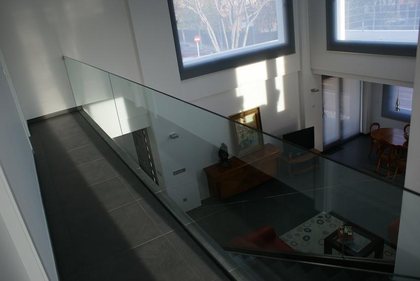 barandilla cristal modernidad